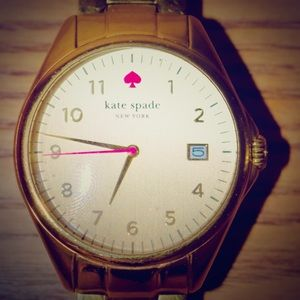 SOLD Gold Kate Spade Seaport watch